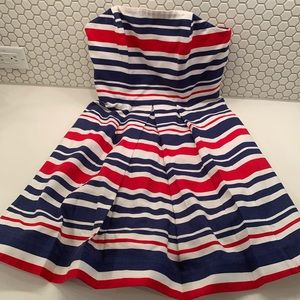 Vineyard Vines Strapless Dress